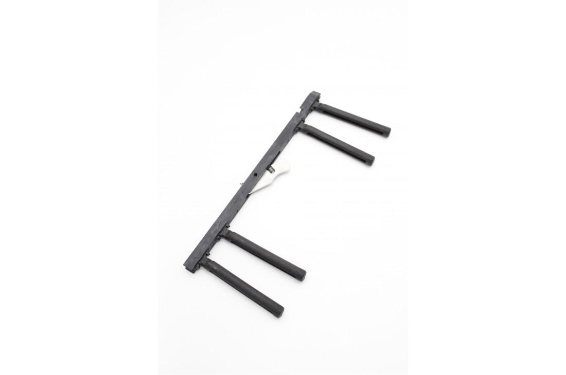 Suwak barierek łóżka rehabilitacyjnego z przyciskiem