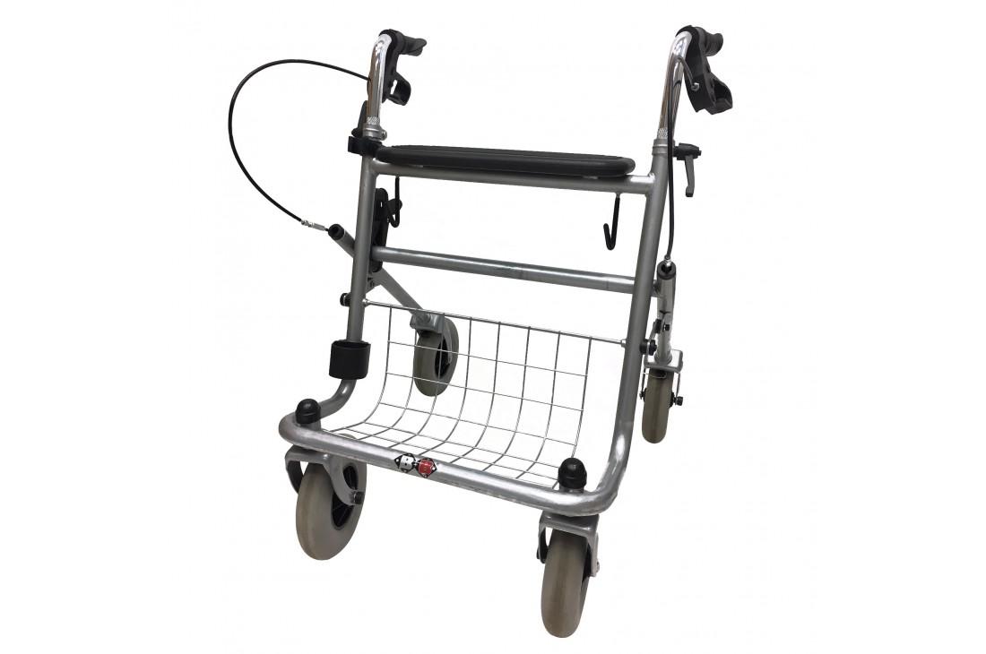 Balkonik rehabilitacyjny czterokołowy, chodzik, rollator