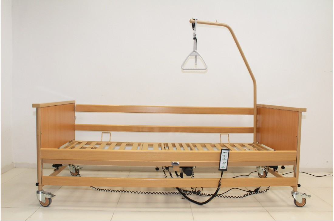 Łóżko medyczne, rehabilitacyjne Burmeier Dali II + Wysięgnik