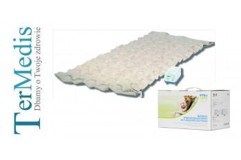 Nowy materac przeciwodleżynowy, grzybkowy + Pompa