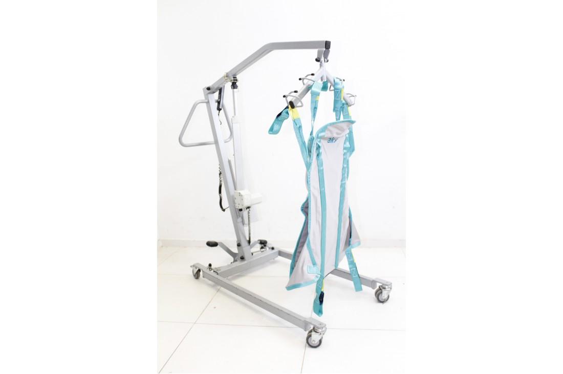 Podnośnik pacjenta Meyra Ortopedia + Chusta + Nowe baterie!