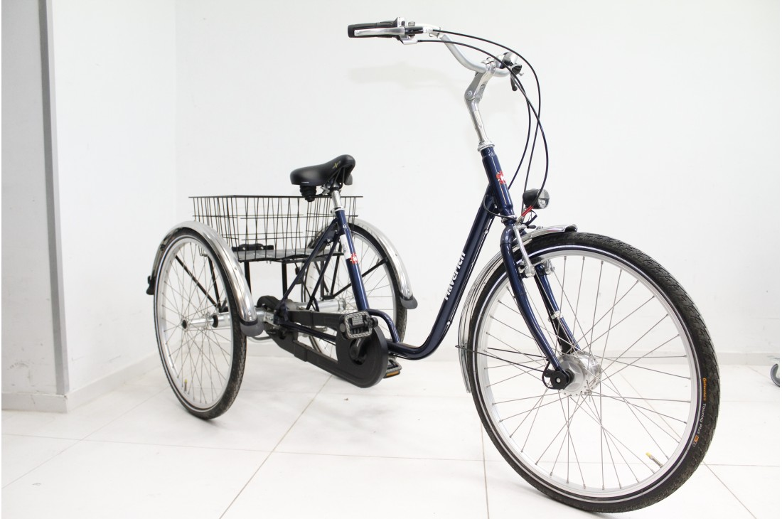 Rower trójkołowy dla osoby niepełnosprawnej Haverich DR 26'' TEK