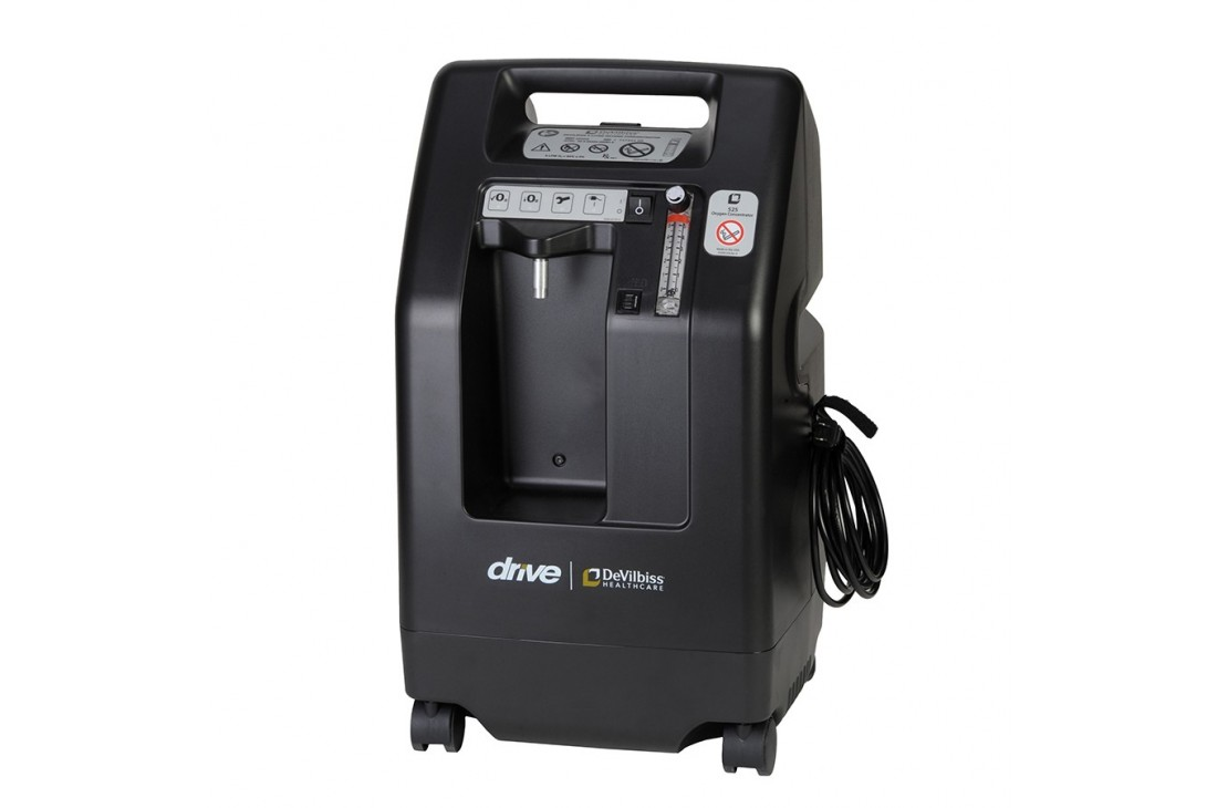Koncentrator tlenu DeVillbis 525 KS Black - regenerowany
