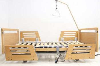 Łóżko medyczne, rehabilitacyjne elektryczne 3-Funkcyjne Bock + Wysięgnik