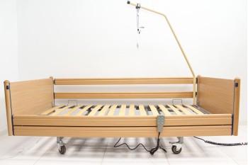 Łóżko rehabilitacyjne, elektryczne, 3-funkcyjne Otto Bock + Wysięgnik