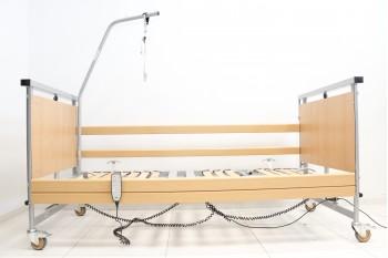 Łóżko medyczne, rehabilitacyjne Allura 2 do 250 kg + Wysięgnik
