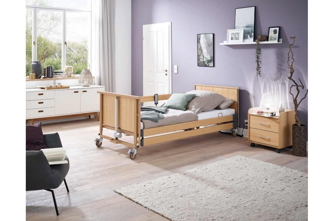 Nowe łóżko rehabilitacyjne Burmeier Dali + Wysięgnik