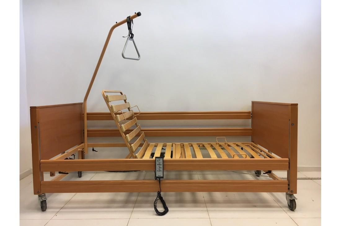 Łóżko medyczne, rehabilitacyjne elektryczne 3-Funkcyjne Days + Wysięgnik