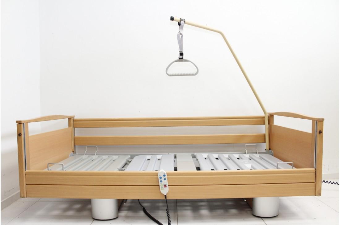 Łóżko medyczne, rehabilitacyjne elektryczne 3-Funkcyjne Dummer + Wysięgnik