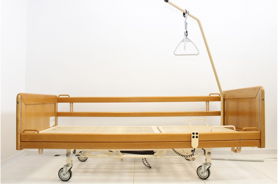 Łóżko rehabilitacyjne, elektryczne, 3-funkcyjne Stiegelmeyer - Nr 1