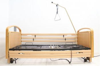 Łóżko rehabilitacyjne, elektryczne, 7-funkcyjne Carat + Wysięgnik!