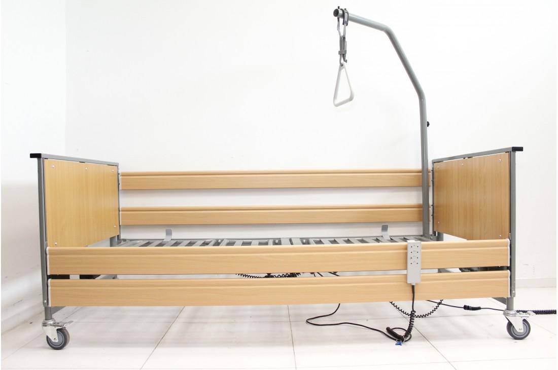Łóżko rehabilitacyjne 5-Funkcyjne TekVor Ecofit S + Wysięgnik