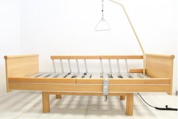 Łóżko rehabilitacyjne, elektryczne, 4-funkcyjne Volker 3010 + Wysięgnik