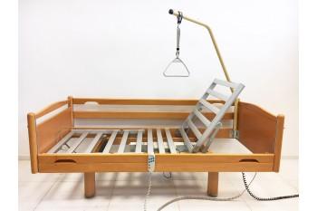 Łóżko rehabilitacyjne, elektryczne, 4-funkcyjne Volker - Aluminiowe
