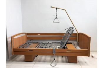 Łóżko rehabilitacyjne, szpitalne, elektryczne, 6-Funkcyjne WiBo