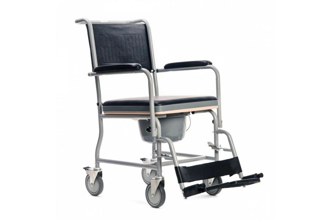 Nowy wózek toaletowy VitaCare + Pojemnik